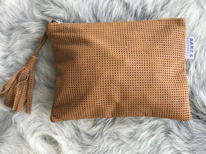 Shelby Leather Clutch