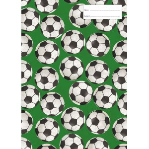 Book Cover - Soccer Balls
