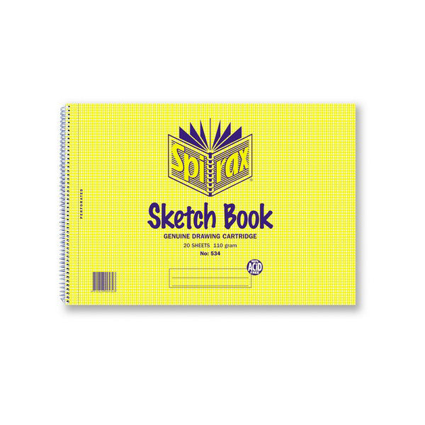 Sketch Book - A4 Spirax 534