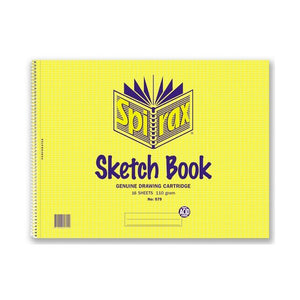 Sketch Book - Spirax 579