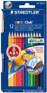 Watercolour Pencils - Staedtler Aquarell - 12 Pack