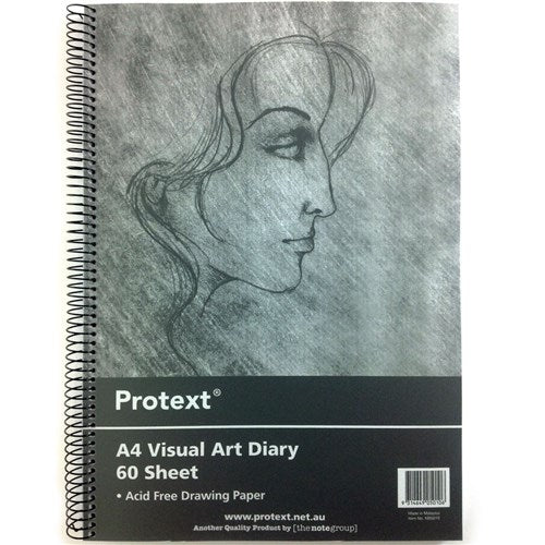 Visual Art Diary - A4 Poly Cover