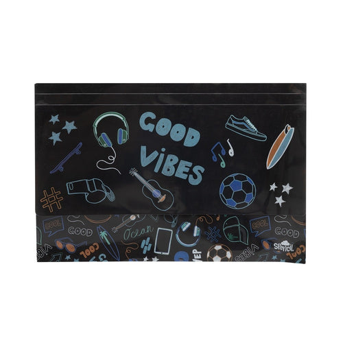 Document Wallet - Spencil - Good Vibes