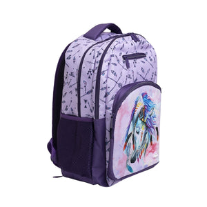 Triple Back Pack - Dreamcatcher Horse