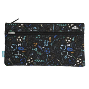 2 Zip - Rectangle Pencil Case - Good Vibes