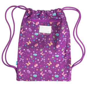 Drawstring Sports Bag - Pure Magic Unicorn