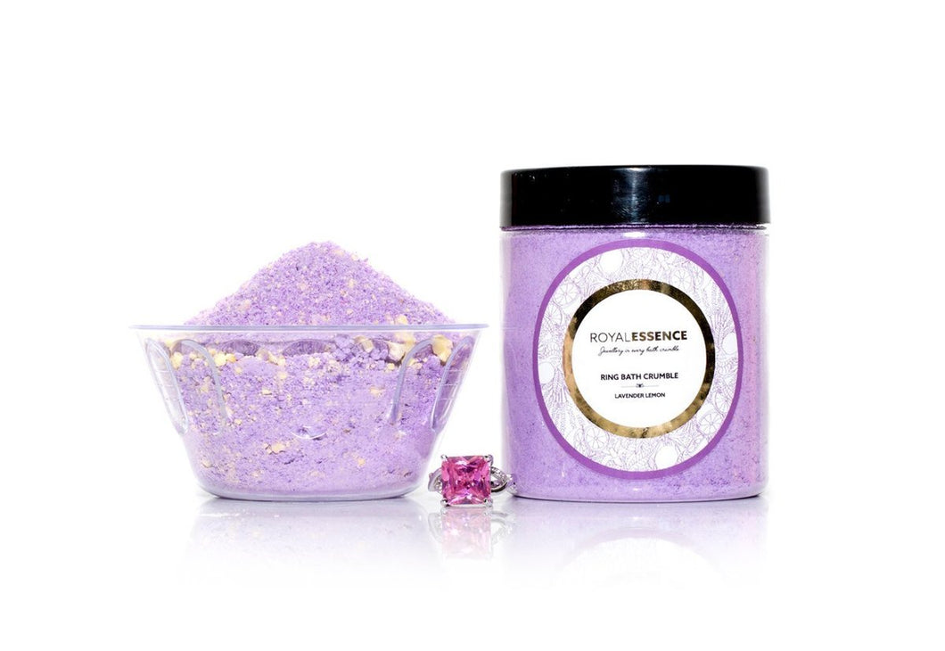 Jewellery Bath Crumble - Lavender and Lemon