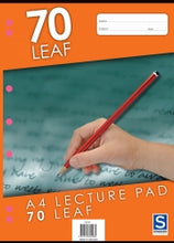 Lecture Pad A4