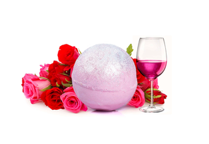 Jewellery Bath Bomb - Mimosa Pink Apple