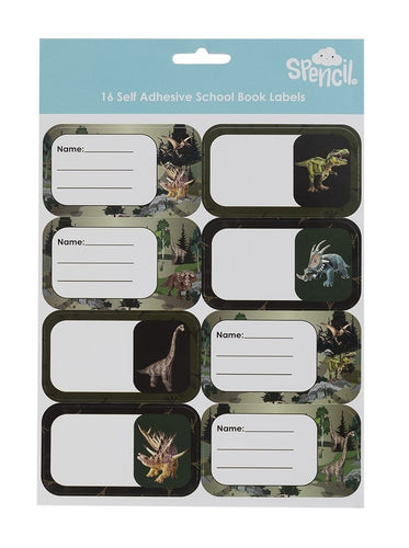 Name And Subject Label Stickers - Dinosaur Discovery