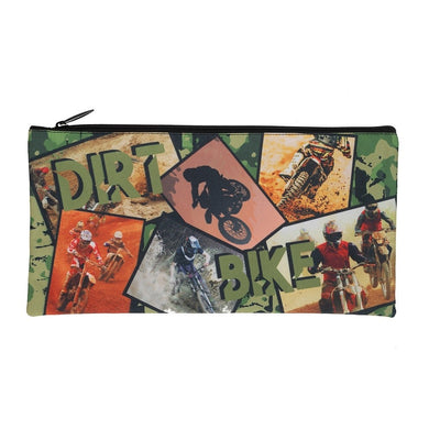 Rectangle Pencil Case - Dirt Bike