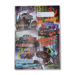 Book Cover - Monster Trucks I