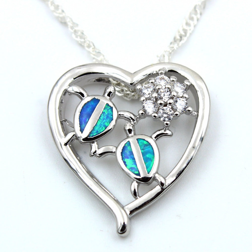 img opal fire necklace pendant store heart that product shaped