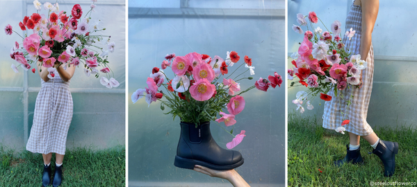 Gumboots and Flowers! - Merry People