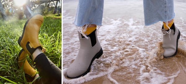 The Difference between Natural Rubber and PVC Gumboots - Merry People