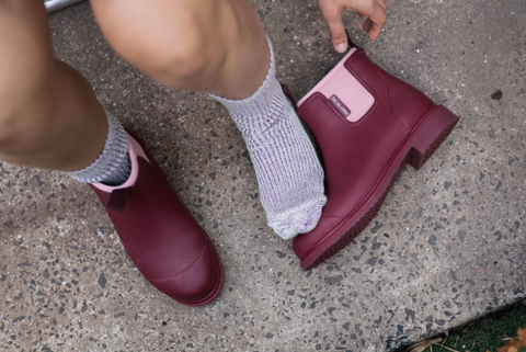 Linder Socks & Bobbi Beetroot