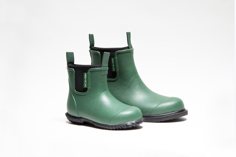 Bobbi Kids Gumboot // Alpine Green - Merry People