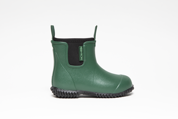 Bobbi Kids Gumboot // Alpine Green