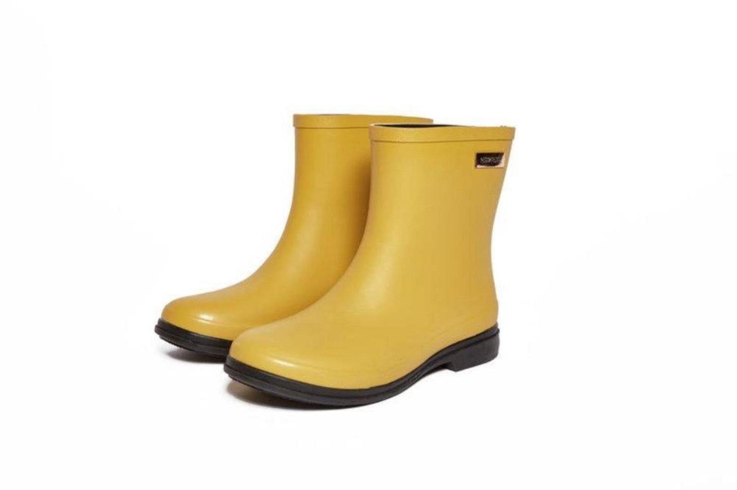 Rosey Gumboot // Mustard Yellow