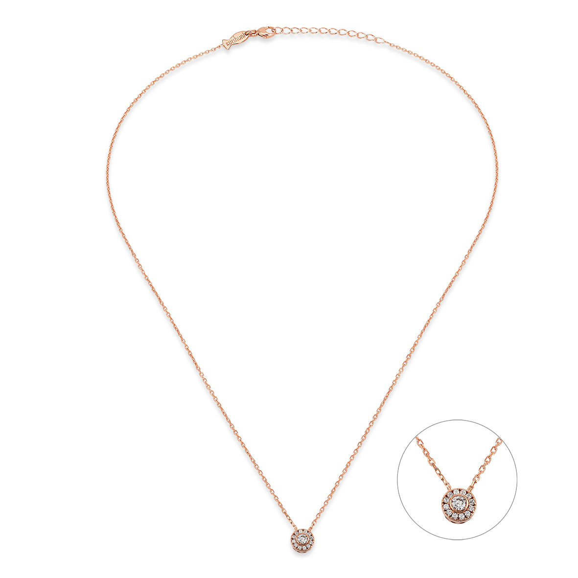 MINI ENTOURAGE NECKLACE GOLD - Wonderfuletta