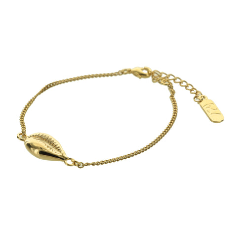 BRACELET SHELL GOLD - Wonderfuletta