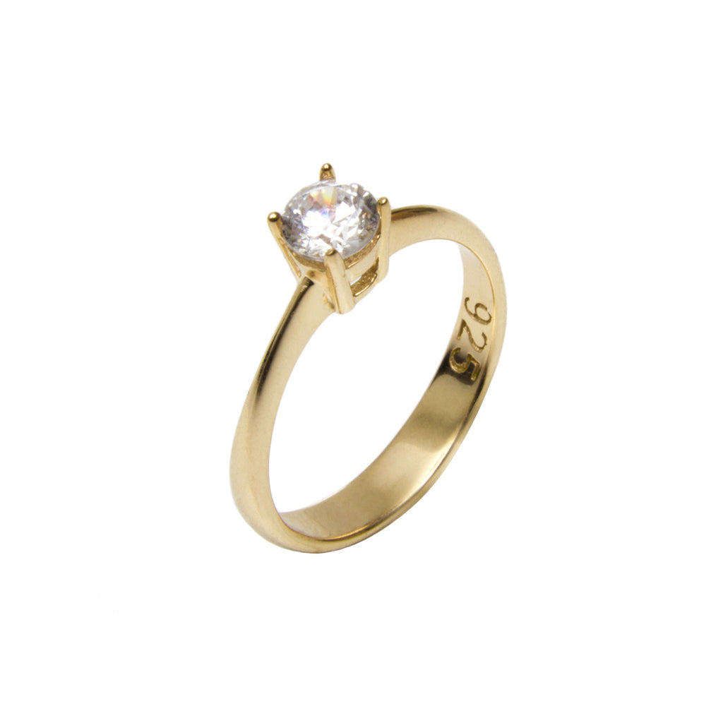 SOLITAIRE RING - Wonderfuletta