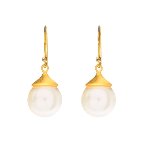 PEARL EARRINGS - Wonderfuletta