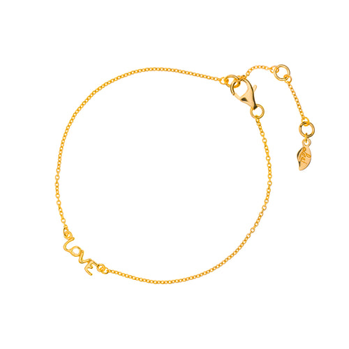 MINI LOVE BRACELET GOLD - Wonderfuletta