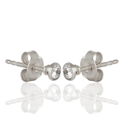 MINI STUDS SILVER - Wonderfuletta