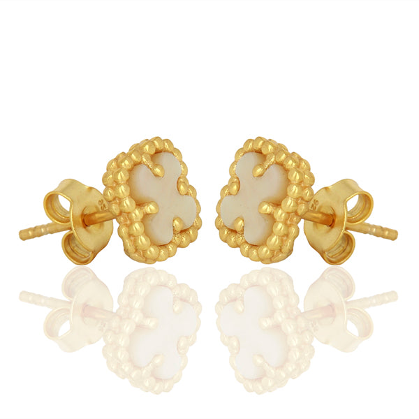 CLOVERLEAF MINI STUDS - Wonderfuletta