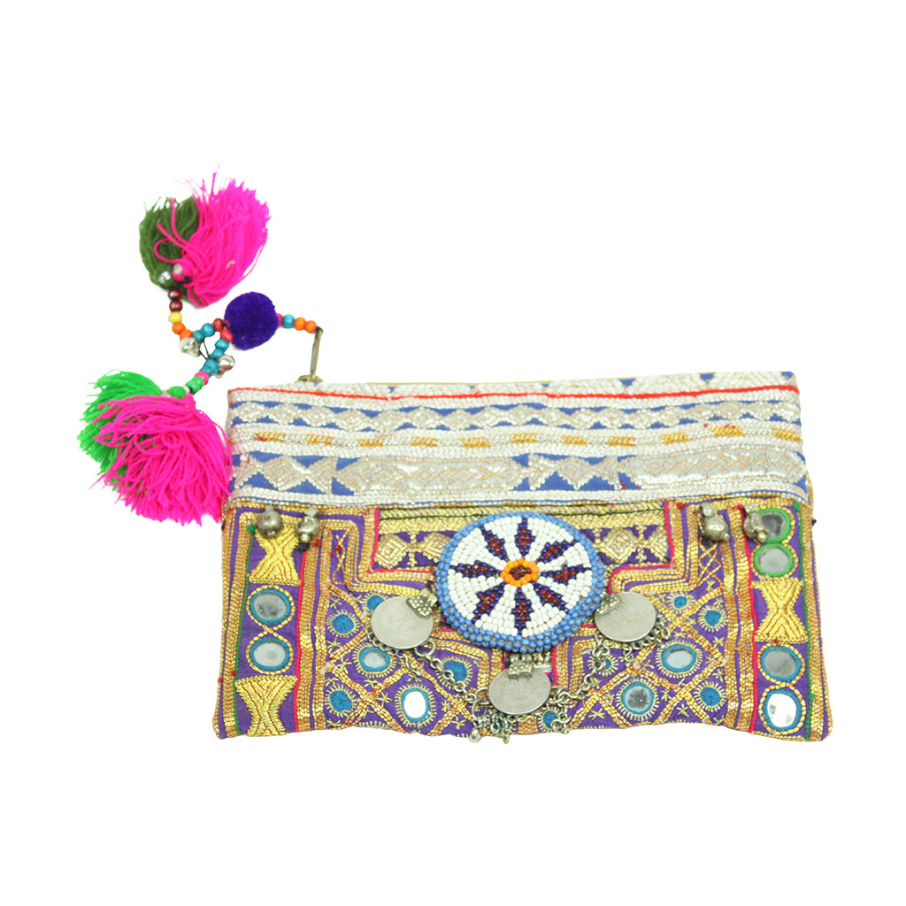 HIPPIE ZIPPER BAG - Wonderfuletta