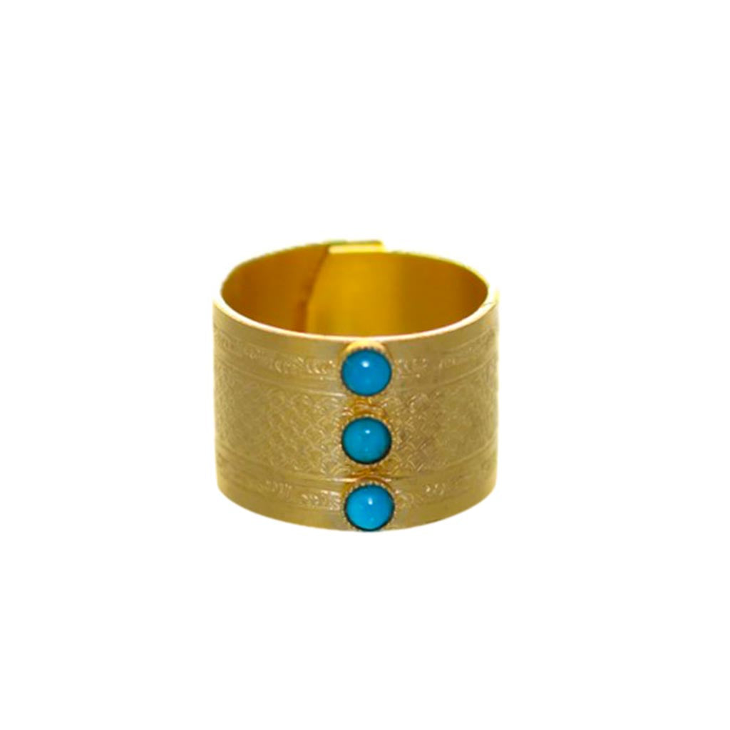 RING WITH 3 STONES - Wonderfuletta