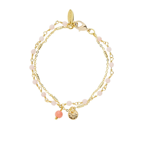 PALERMO BRACELET ROSE - Wonderfuletta