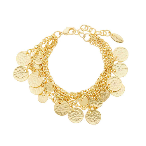 ALENA BRACELET GOLD - Wonderfuletta