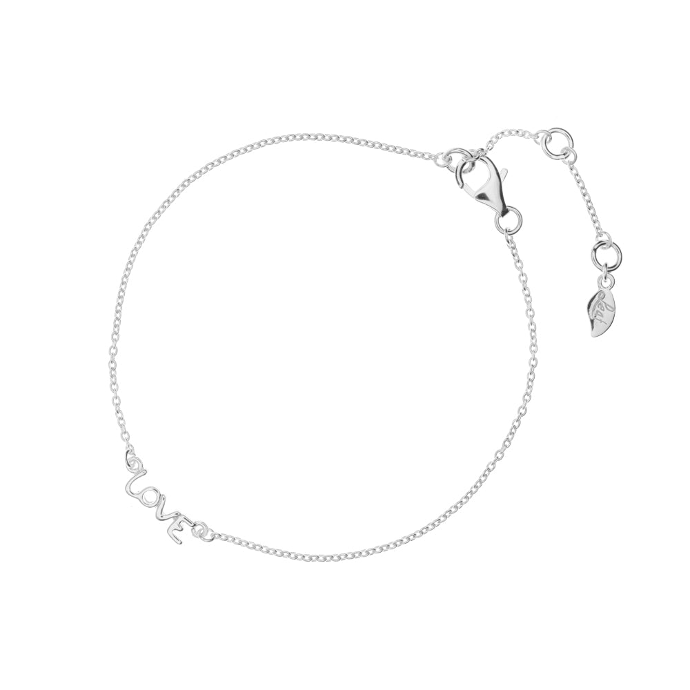 MINI LOVE BRACELET SILVER - Wonderfuletta