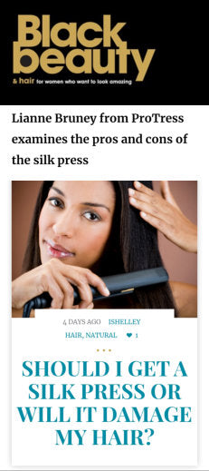 Should I Get a Silk Press Or Will It Damage My Hair?