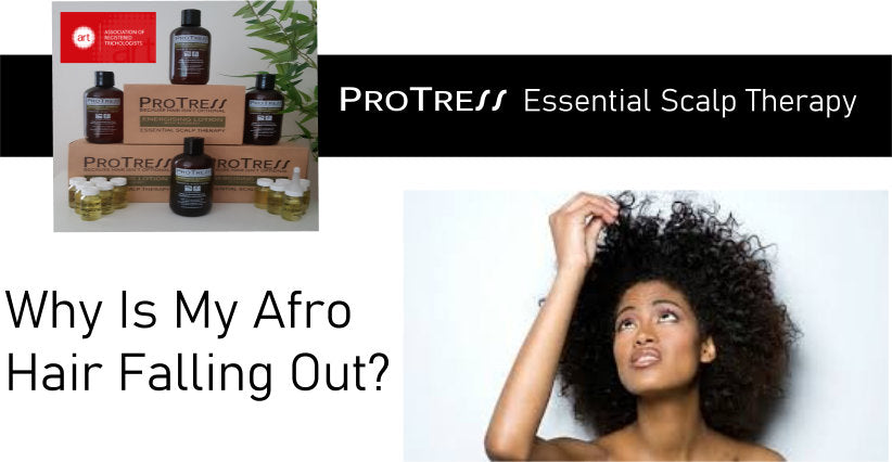 why is my afro hair falling out?