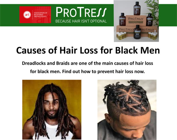 causes of hair loss for black men