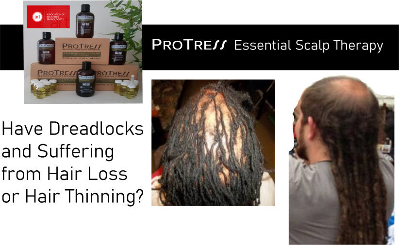 Have dreadlocks and suffering from dreadlocks or hair thinning?