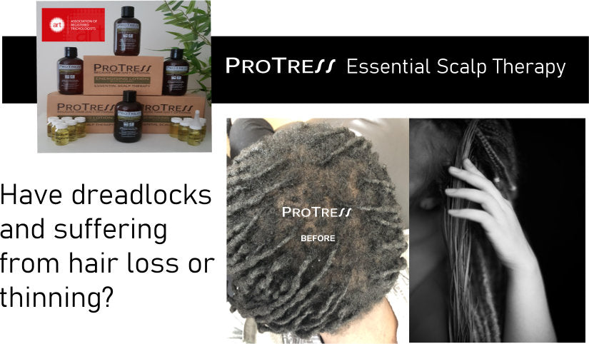 have dreadlocks and suffering from hair loss or thinning? How to stop hair loss if you have dreadlocks