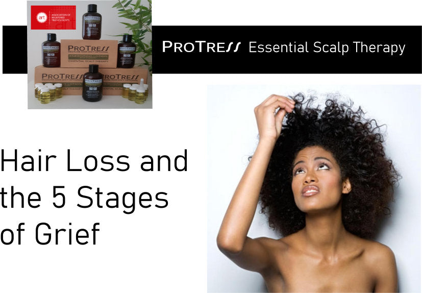 Hair Loss and the 5 stages of grief