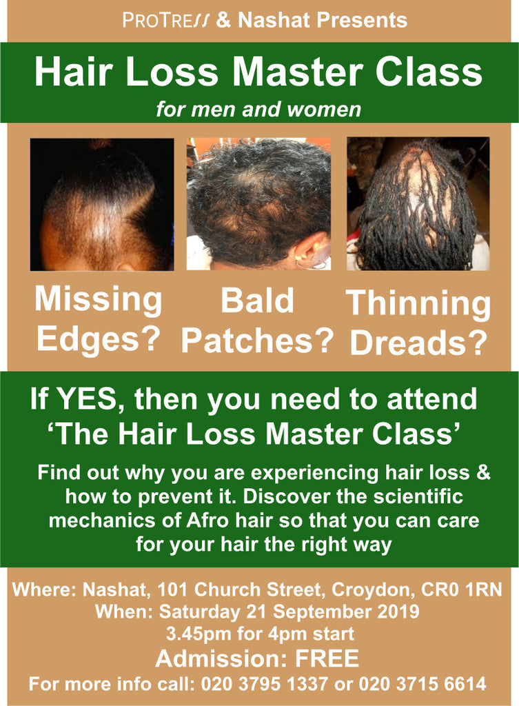Free hair loss master class event