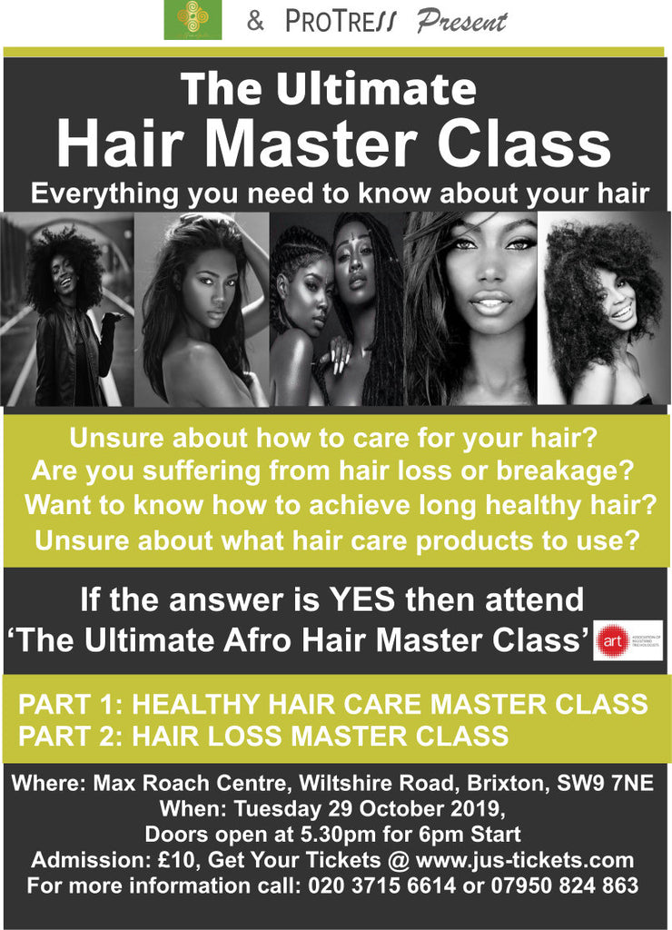 Ultimate Afro Hair Master Class