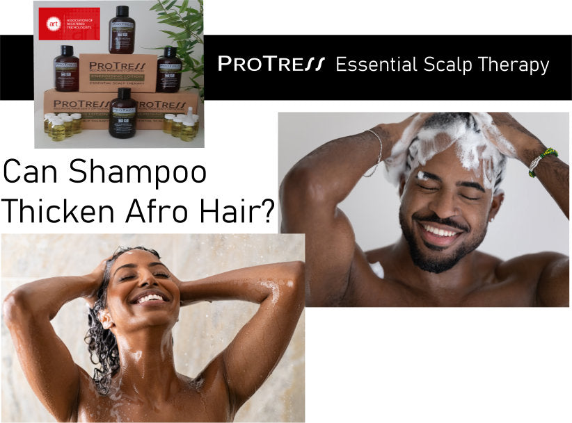 can shampoo thicken afro hair?