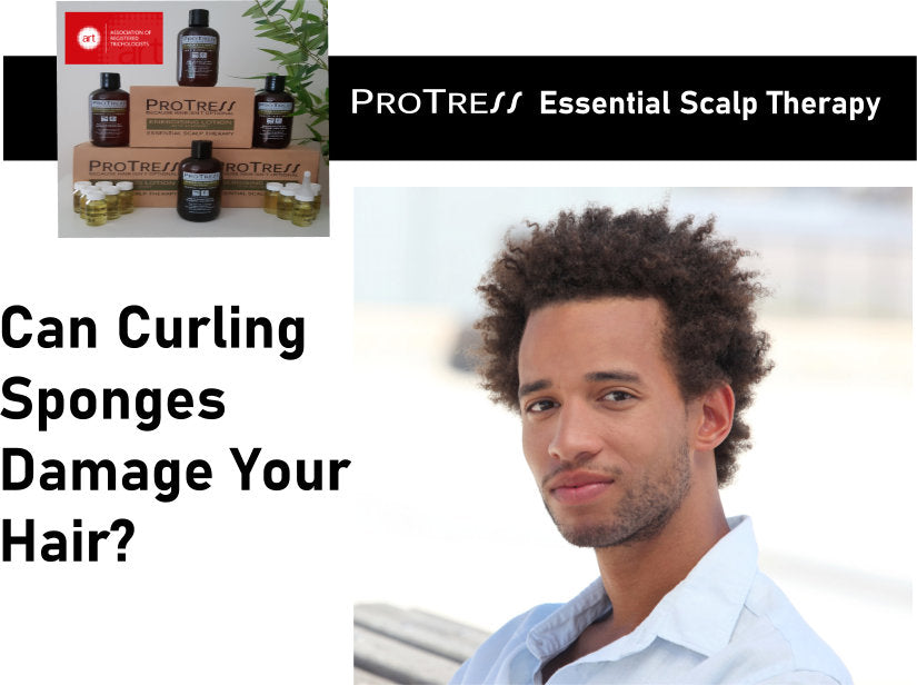 can curling sponges damage your hair?