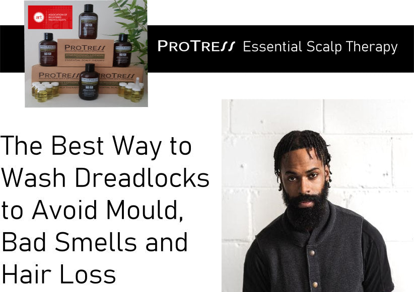 the best way to wash dreadlocks to avoid mould, bad smells and hair loss