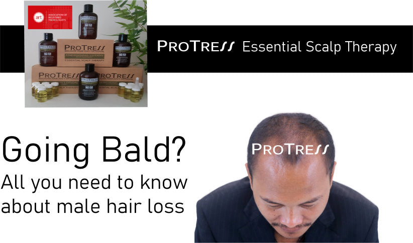going bald? all you need to know about male hair loss