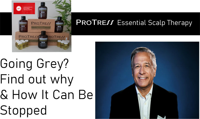 going grey? find out why and how it can be stopped?