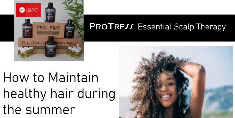 how to maintain healthy hair during the summer