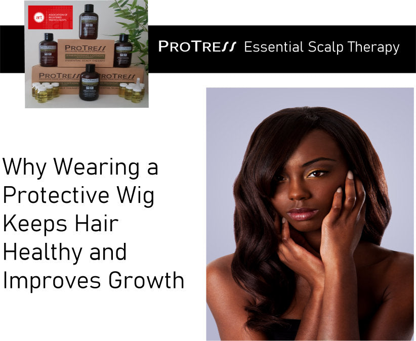 Why Wearing a  Protective Wig  Keeps Hair  Healthy and Improves Growth